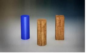 Kemanakah silinder kayu dikelompokkan?